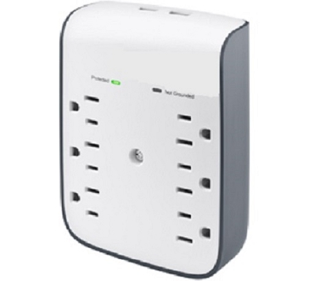 Surge Protector Model I One 900 Joules 120 Vac Wood