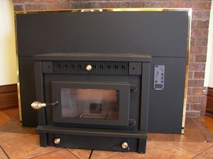 High Technology Fireplace Insert Wood Pellet Corn Multifuel Stove