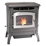 VERMONT CAST IRON WOOD PELLET STOVE FURNACE, No.1 Rated