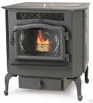 Country Flame Harvester HR-01 Multi-fuel Corn Wood Pellet Stove, 50,000 BTU/Hr